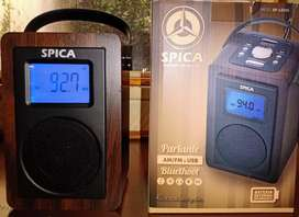 Radio SPICA Am Fm USB Bluetooth segunda mano  Bahía Blanca, Buenos Aires