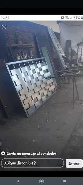 Portones puertas parrillas barandas