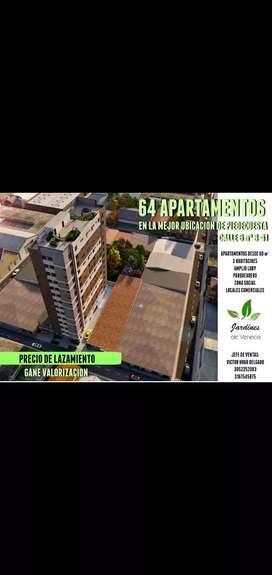 Apartamentos sobre plano
