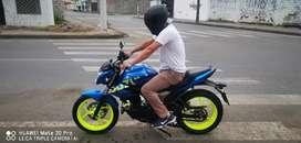 Suzuki Gixxer 150 azul