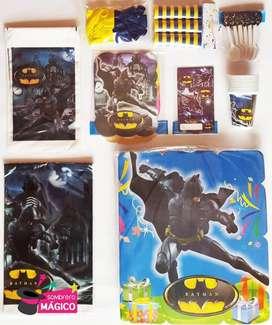 Kit Fiesta Batman para 24 personas