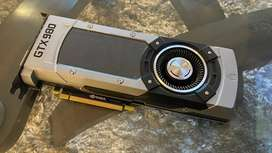GTX 980 4GB Founders Edition