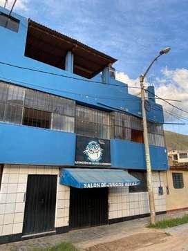Local comercial de 2 pisos, 200mt2 por piso - Huanuco