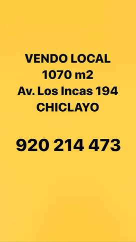 VENDO Local 1070 m2 - Chiclayo
