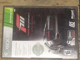 Se vende juego de FORZAMOTORSPORT3 para Xbox 360