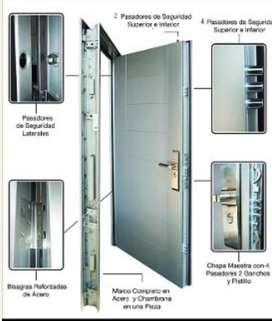 Puertas Principales de Seguridad
