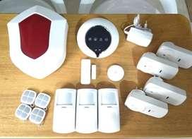 Alarma inalambrica inteligente automonitoreada