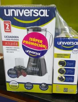 Licuadora + Sanduchera 130.000$