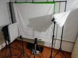 Set de Fotografía Completo