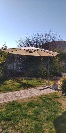 Sombrilla para jardin