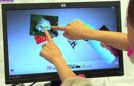 MONITOR Touchscreen  pantallla TACTIL LCD Full HD 1080p GAMER de 21,5 usado