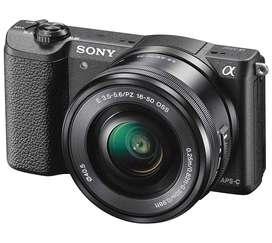 Cámara Sony Alpha A5100 Montura E Sensor Apsc NUEVO en TIENDA GARANTÍA