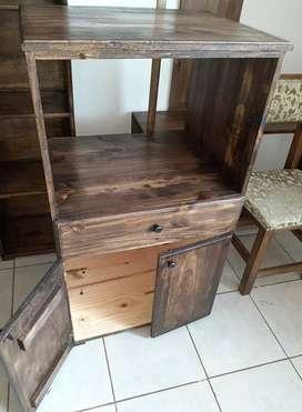 mueble para horno electrico y microondas