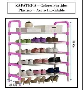 Zapateros en acero inoxidable