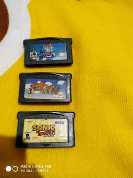 JUEGOS GAME BOY ADVANCE SP ORIGINALES