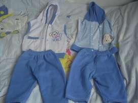 Chaquetas conjuntos camisasbodys y pijamas para bebes de 6 a 12 mese