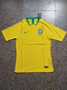 Camiseta Brasil Match 2018