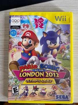 Mario y Sonic Juegos Olimpicos 2012