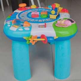 Mesa Didáctica Musical Infantil - Piano - Juego para niños niñas