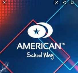 Vendo curso de ingles en american school way