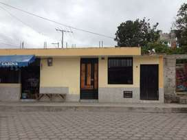 Casa independiente y un terreno en Natabuela