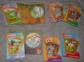 Vídeo Cuentos Infantiles Colección Completa 8 Dvds Original