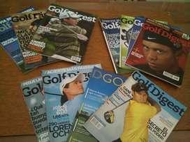 Golf: Revista GOLFDIGEST años 2007/2008/2009 Profesionales del Golf