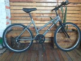 MTB bicicleta restaurada rodado 24