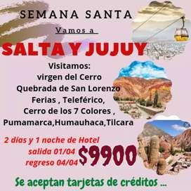 Tours a Salta y jujuy