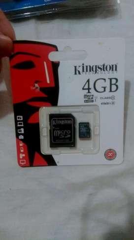 Memoria Micro Sd 4gb