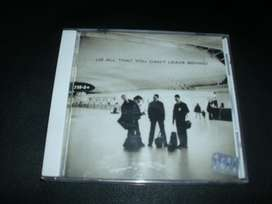 "U2 CD  "" ALL THAT YOU CAN'T LEAVE BEHIND """