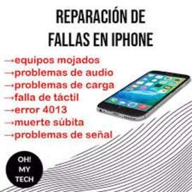 Reparamos celulares y tablets