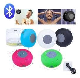 Parlante Bluetooth Altavoz Recargable Para Ducha Resistente Al Agua, Recibe Llamadas, New Model