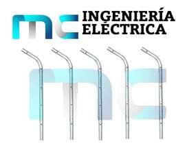 Tubos Galvanizados Para Cercas Eléctricas