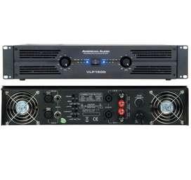 Amplificador Vlp1500 American Audio