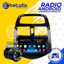 RADIO ANDROID CHEVROLET SPARK GT GPS BT USB WIFI BETAFIX DESDE