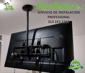 Instalaciones Soportes Bases TV - Repisas - Cortinas - Tendederos - muebles Home Center - Amacas