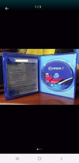 Vendo o cambio cd fifa 19 del ps4 por el gta5 interesados comunicarse al whatsap o llamadas