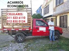 Servicio de Acarreos ECONOMICOS en todo el Quindío