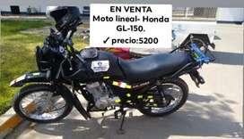 Moto Honda GL-150