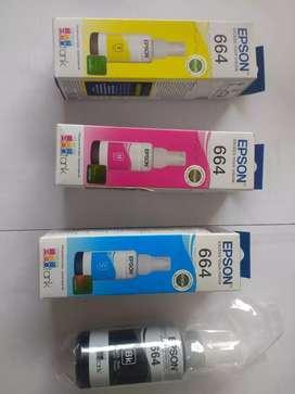Tinta Epson original 664