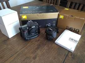 Nikon D610 - lente nikon 24-85
