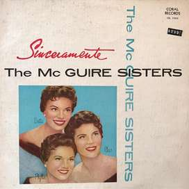 LP de The McGuire Sisters año 1956