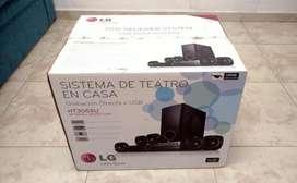 Home Theater LG HT305SU 300W En caja Sin uso. Excelente Estado