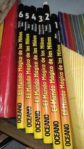 Enciclopedia El mundo mágico de los niños