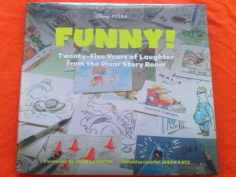 Libro: El arte de PIXAR Funny 0