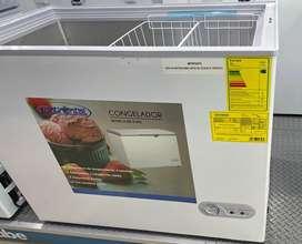 Congelador marca continental 218 litros nuevo con garantia