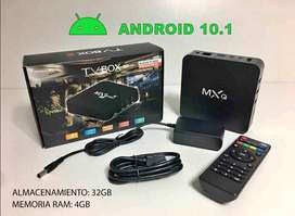 TV BOX MXQPRO 4K - ANDROID 10.1 - 32/4 GB