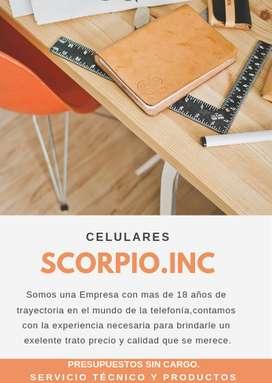 Servicio Tecnico Scorpio Celulares