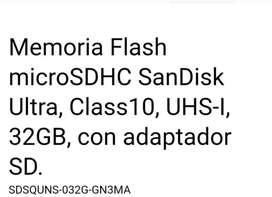 Memoria SD 32GB SanDisk